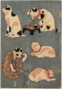 過去の画家たちが遺した有名な猫の絵①