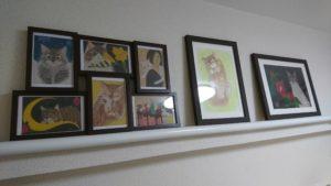 お教室に飾る絵、いろいろ