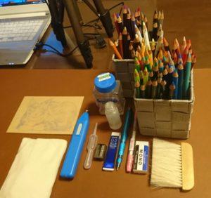 絵を描く道具たちを紹介します✍🏻✩.*˚