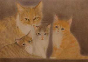 猫の絵作品集⑥
