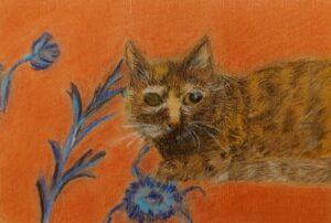 サビ猫さんを描く✍️🎵