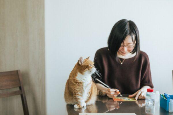 色鉛筆を手に、もうひとつの猫への愛の注ぎ方 | 猫のいる 猫の絵教室|ちくわ。